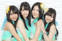 SKE48の(左から)木崎ゆりあ、松井玲奈、松井珠理奈、須田亜香里撮影:鈴木健太