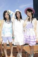 SKE48(左から)矢神久美、松井珠理奈、松井玲奈  (撮影:原田宗孝)