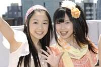 SKE48(左から)石田安奈、高柳明音  (撮影:原田宗孝)