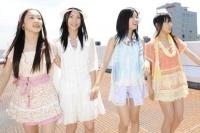 SKE48(左から)石田安奈、松井珠理奈、矢神久美、高柳明音  (撮影:原田宗孝)