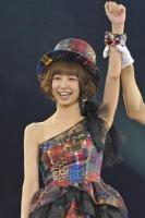AKB48の篠田麻里子<br>『第3回 AKB48じゃんけん大会』の模様