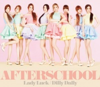 AFTERSCHOOL シングル「Lady Luck/Dilly Dally」【LIVE盤(CD+DVD)】