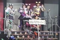 『第1回ゆび祭り〜アイドル臨時総会〜』でのももいろクローバーZ