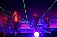 『JYP NATION in Japan 2012』に出演した2PMのウヨン