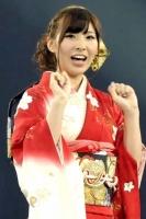 第3回「28thシングル選抜じゃんけん大会」の岩佐美咲(第1回戦勝者)