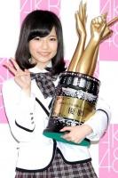 第3回「28thシングル選抜じゃんけん大会」優勝した島崎遥香