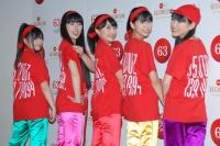 『第63回 NHK紅白歌合戦』リハーサルに参加した<br>ももいろクローバーZ(左から有安杏果、佐々木彩夏、百田夏菜子、玉井詩織、高城れに)