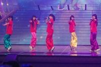 『第63回 NHK紅白歌合戦』リハーサルに参加した<br>ももいろクローバーZ(左から有安杏果、佐々木彩夏、百田夏菜子、玉井詩織)