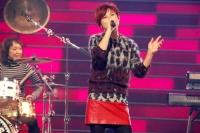 『第63回 NHK紅白歌合戦』リハーサルに参加した<br>プリンセス プリンセス