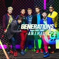 GENERATIONS from EXILE TRIBE<br>シングル「ANIMAL」【CD+DVD】