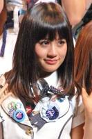 『第2回AKB48選抜総選挙』開票イベントの模様<br>2位 前田敦子