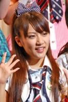 『第2回AKB48選抜総選挙』開票イベントの模様<br>6位 高橋みなみ