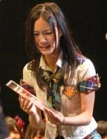 『第2回AKB48選抜総選挙』開票イベントの模様<br>10位 松井珠理奈