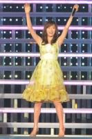 "『AKB48 2013真夏のドームツアー』札幌公演の模様<br>約1年ぶりに""帰還""した前田敦子(撮影:高橋直子)"