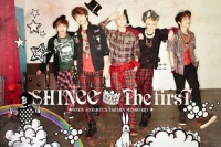 SHINeeのアルバム『THE FIRST初回生産限定SPECIAL BOX】CD+DVD