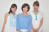フジテレビ(左から)生野陽子、中野美奈子、加藤綾子 全アナウンサー<br><b>