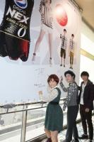 MUSH&Co.コラボボードが掲出された☆『カノ嘘』渋谷ジャックをフォトレポート!<br>⇒