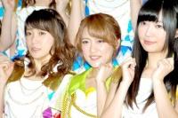 『第64回NHK紅白歌合戦』の初日リハーサルに参加した<br>AKB48(左から大島優子、高橋みなみ、指原莉乃)<br>[出場6回目/「紅白2013SP〜AKB48フェスティバル!〜」]<br><br>