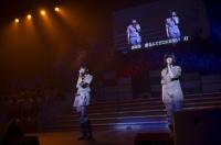 『リクエストアワーセットリストベスト200 2014』<br> 191位「動機」<br> (左から)木崎ゆりあ、島崎遥香