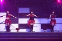 『リクエストアワーセットリストベスト200 2014』<br> 172位「雨のピアニスト」<br> (左から)大矢真那、松井玲奈、出口陽
