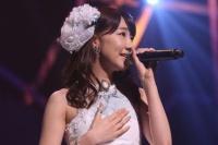 『AKB48 ユニット祭り 2014』の模様<br>12曲目「Birthday wedding」<br>柏木由紀