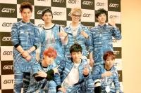 GOT7(左から時計回りにユギョム、ジャクソン、JB、ヨンジェ、ベンベン、Jr.、マーク)(C)ORICON inc.