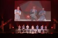 GOT7(左からマーク、ユギョム、ジャクソン、Jr.、ヨンジェ、JB、ベンベン)