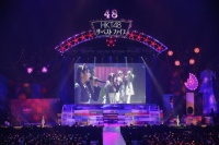『AKB48グループ春コンinさいたまスーパーアリーナ〜思い出は全部ここに捨てていけ!〜』<br>HKT48単独公演の模様<br>「卒業」