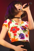 『oricon Sound Blowin' 2014〜spring〜』に出演した<br>LITTLE GLEE MONSTERのmanaka