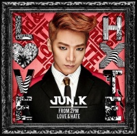 Jun. K(From 2PM)のアルバム『LOVE & HATE』【通常盤】