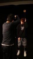 防弾少年団(BTS)のデビューシングル「NO MORE DREAM -Japanese Ver.-」のジャケット写真撮影の様子<br>JUNG KOOK(ジョングク)