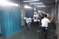 防弾少年団(BTS)のデビューシングル「NO MORE DREAM -Japanese Ver.-」のミュージックビデオ撮影の様子