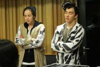 TEAM H(チャン・グンソク&BIG BROTHER)の「Take me」レコーディング風景