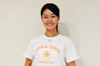ワールド会オープンキャンパス部門長の冠木桃花さんは台湾に留学。現地で友だちを200人もつくったんだそう!