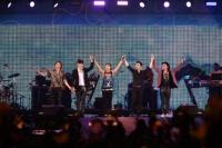 『a-nation stadium fes. 』1日目<br>BIGBANG(左からD-LITE、T.O.P、SOL、V.I、G-DRAGON)