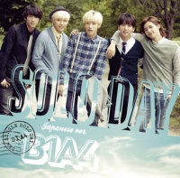 B1A4のシングル「SOLO DAY-Japanese ver.-」【通常盤】