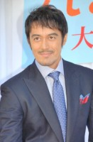 『第6回男性が選ぶ「なりたい顔」ランキング』2位の阿部寛 (C)ORICON NewS inc.