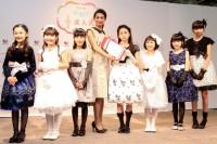 (左から)手塚陽菜、新谷日菜、山下倖和、稲沢朋子、杉澤絆、森愛華、大宮千莉、瑚々