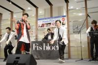 『ORICON POWER PUSH LIVE Vol.4』に出演したFis block