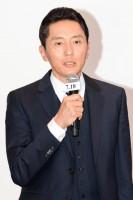 松重豊/映画『HERO』完成報告会見、法務省旧本館前にキャスト勢揃い!(写真:鈴木一なり)