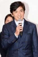 佐藤浩市/映画『HERO』完成報告会見、法務省旧本館前にキャスト勢揃い!(写真:鈴木一なり)