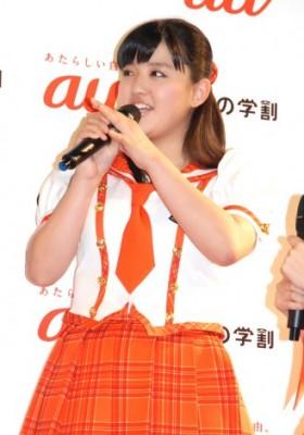 イベントでは森三中にライバル宣言  (C)ORICON NewS inc.