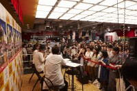 勝 勝次郎のCDデビュー記念イベントの模様(東京・タワーレコード渋谷店)