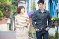 dTVドラマ『シークレット・メッセージ』(左から)上野樹里、チェ・スンヒョン