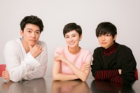 (左から)大東駿介、ホラン千秋、千葉雄大