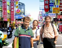 """行き当たりばったり!?台湾での""""路線バス""""旅の様子(C)2015「ローカル路線バス乗り継ぎの旅 THE MOVIE」製作委員会"""