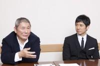 ビートたけし×西島秀俊 『女が眠る時』インタビュー(写真:逢坂 聡)