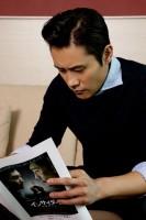 イ・ビョンホン 『インサイダーズ/内部者たち』インタビュー(写真:逢坂 聡)