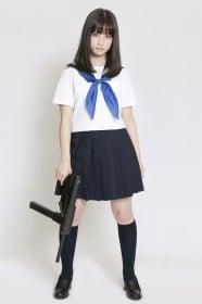 橋本環奈 『セーラー服と機関銃−卒業−』インタビュー(写真:逢坂聡)