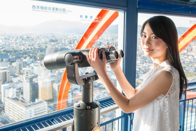 京都タワーから地元・京都の街の情報を探す!?